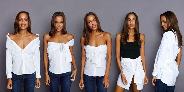 白衬衫怎么搭配 4种设计赋予白衬衫一段新生
