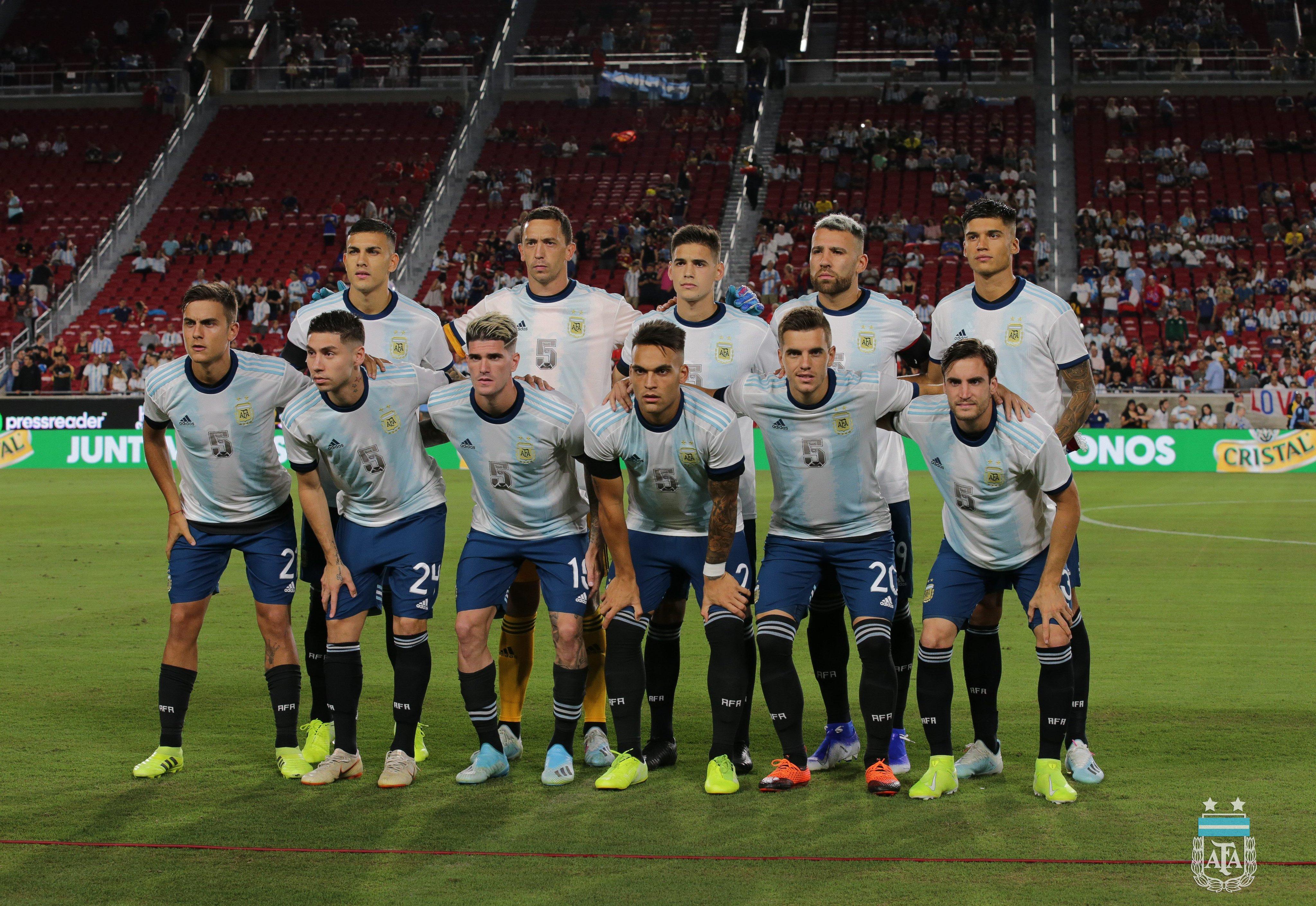 热身赛-梅西缺席劳塔罗失良机 阿根廷0-0闷平智利