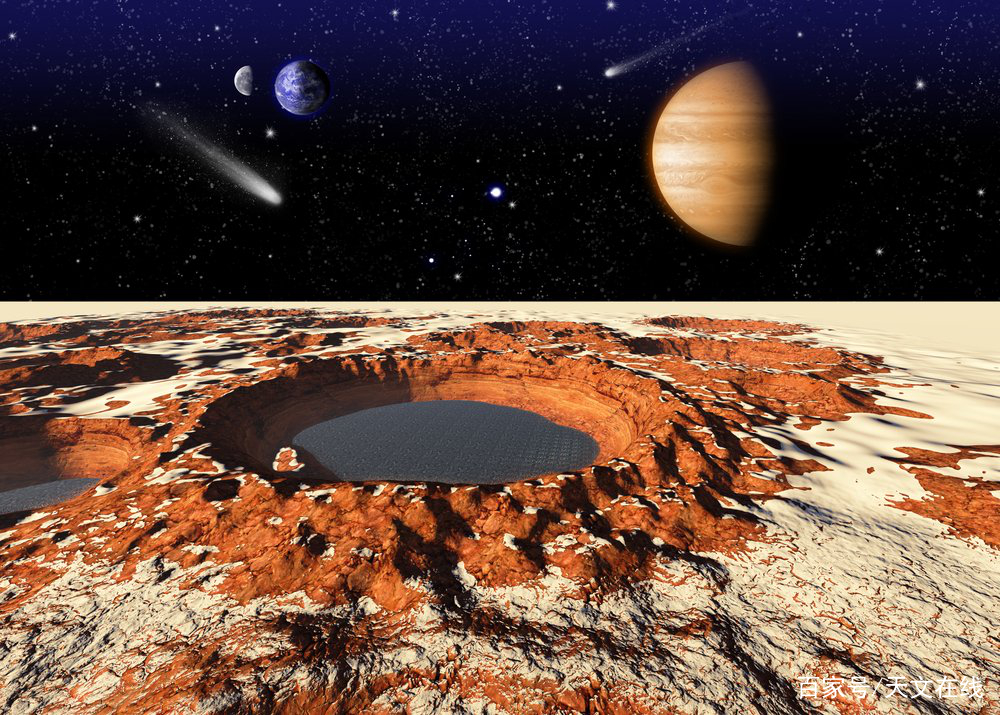 NASA宣布在火星上找到了真正的水,为在火星上寻找生命提供了方向