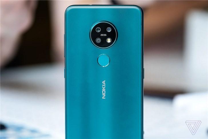 诺基亚推出中端手机的最新机型:诺基亚6.2/7.2
