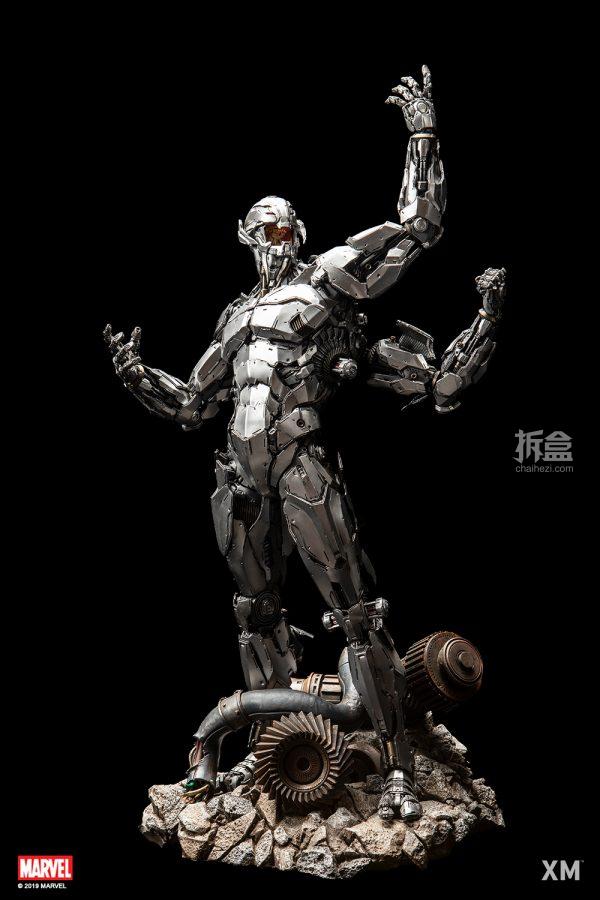 XMStudios漫威漫画《复仇者联盟》奥创ULTRA1:4雕像