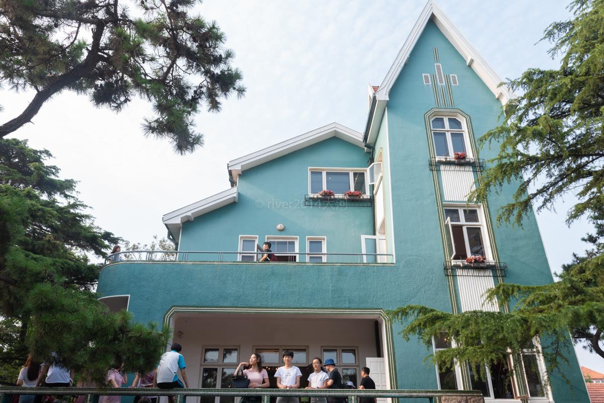 青岛有座为丹麦公主建的别墅,公主从来没住过,成了旅游景点