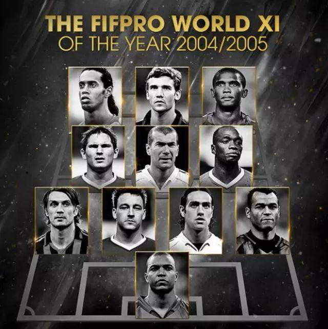 历年世界最佳11人回顾:梅罗近12年全部