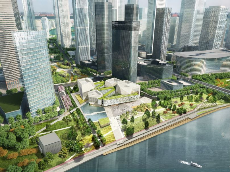 滨河公园平面设计图