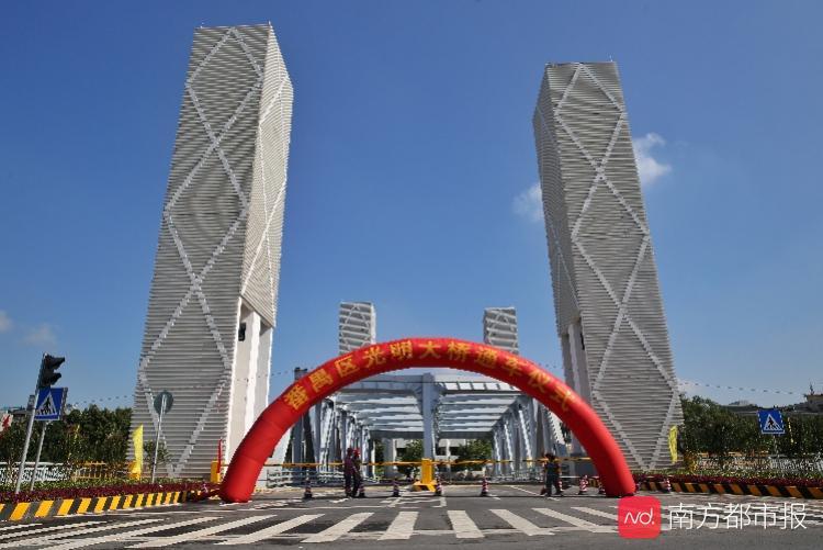 为躲避文物修建,番禺建成广州首坐直升式开启桥梁光亮大年夜桥
