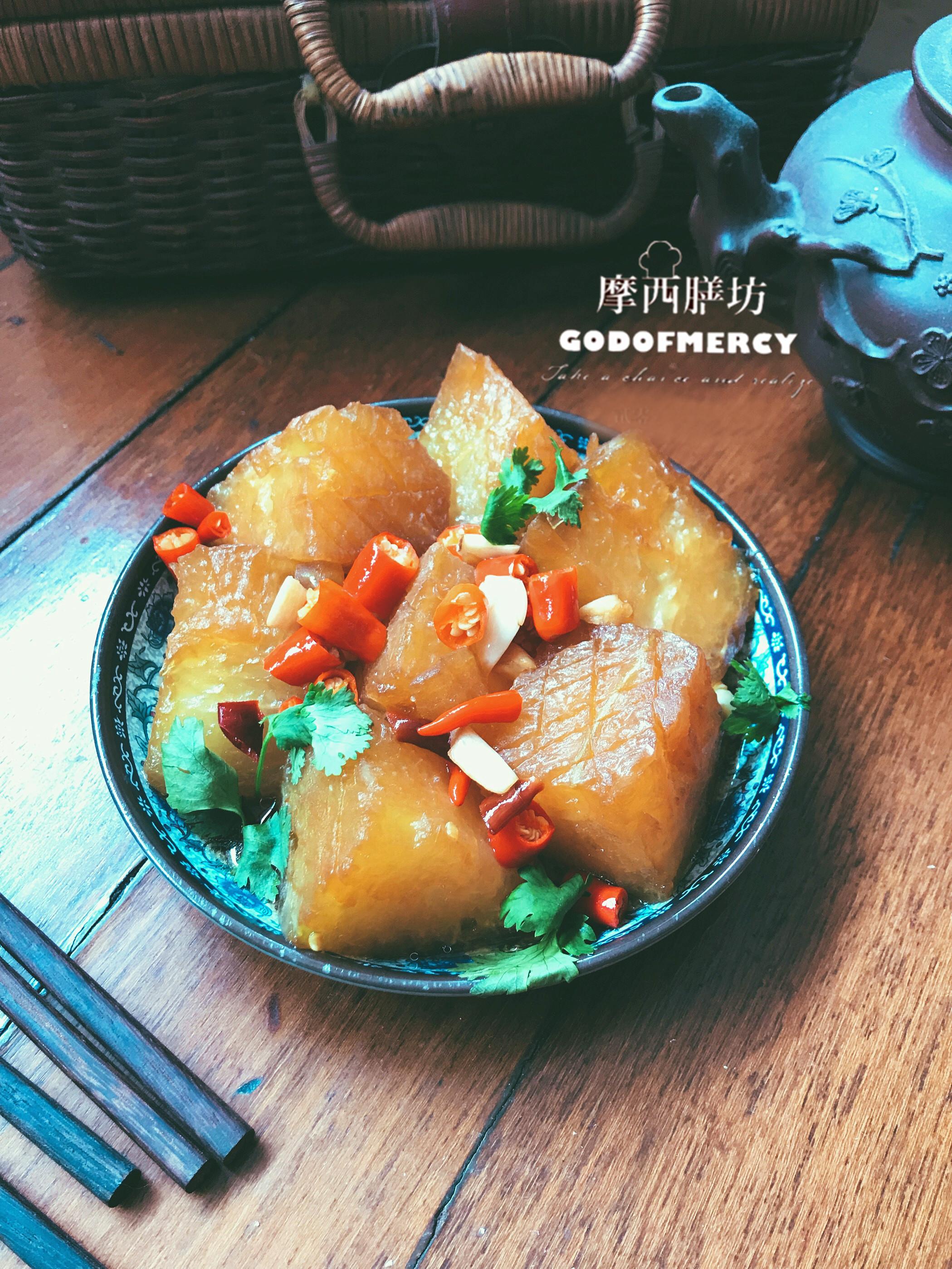 原创            红烧冬瓜比肉还好吃,十分钟就能搞定,减肥也能吃