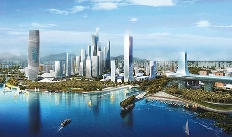 前海gdp_前海2020年GDP要达1500亿 163个项目批准入园(2)