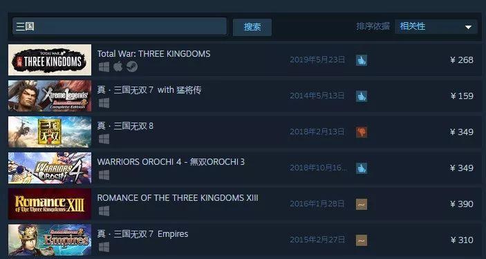喜加1!Steam支持中文搜索却被钻空子!《战争机器5》暂时取消国区发售《全战:三国》新DLC?玩家不满《2077》多人模式