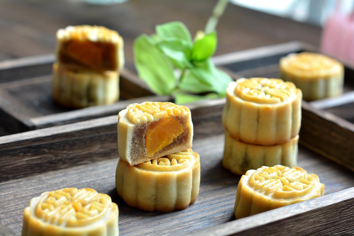 中秋节还要出去买月饼吗 做月饼原来这么简单,自己做的还不太甜