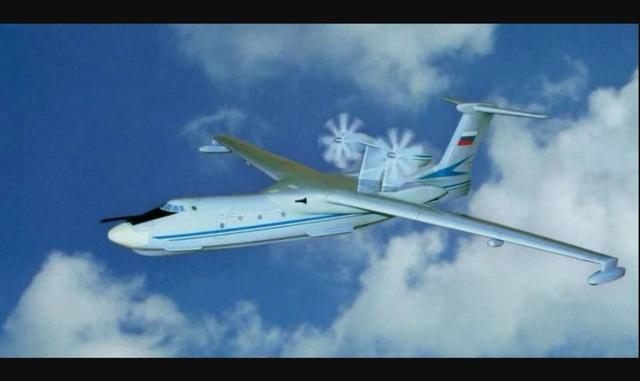中国AG600两栖飞机成功,俄罗斯深受鼓舞,要造世界最大水上飞机