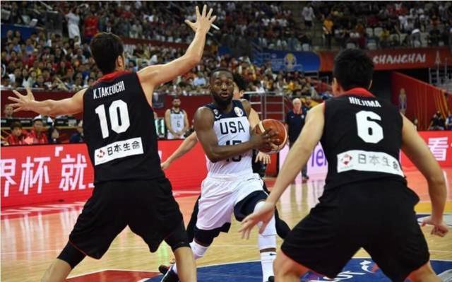 男篮世界杯美国狂胜日本53分 马场雄大全