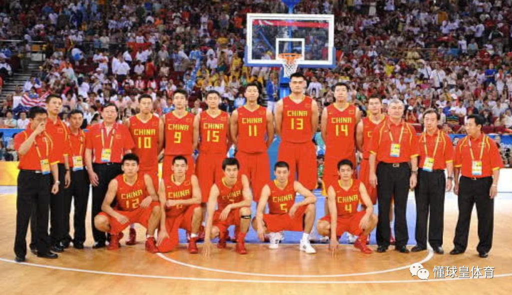 解析08年最强一届中国男篮!6日男篮世界