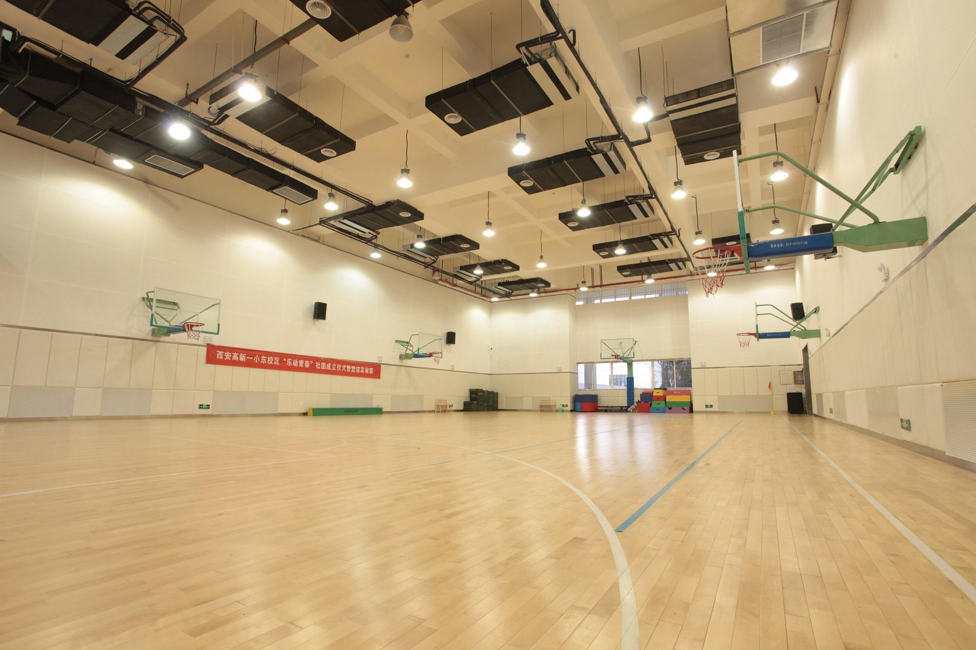 篮球场实木地板安装标准