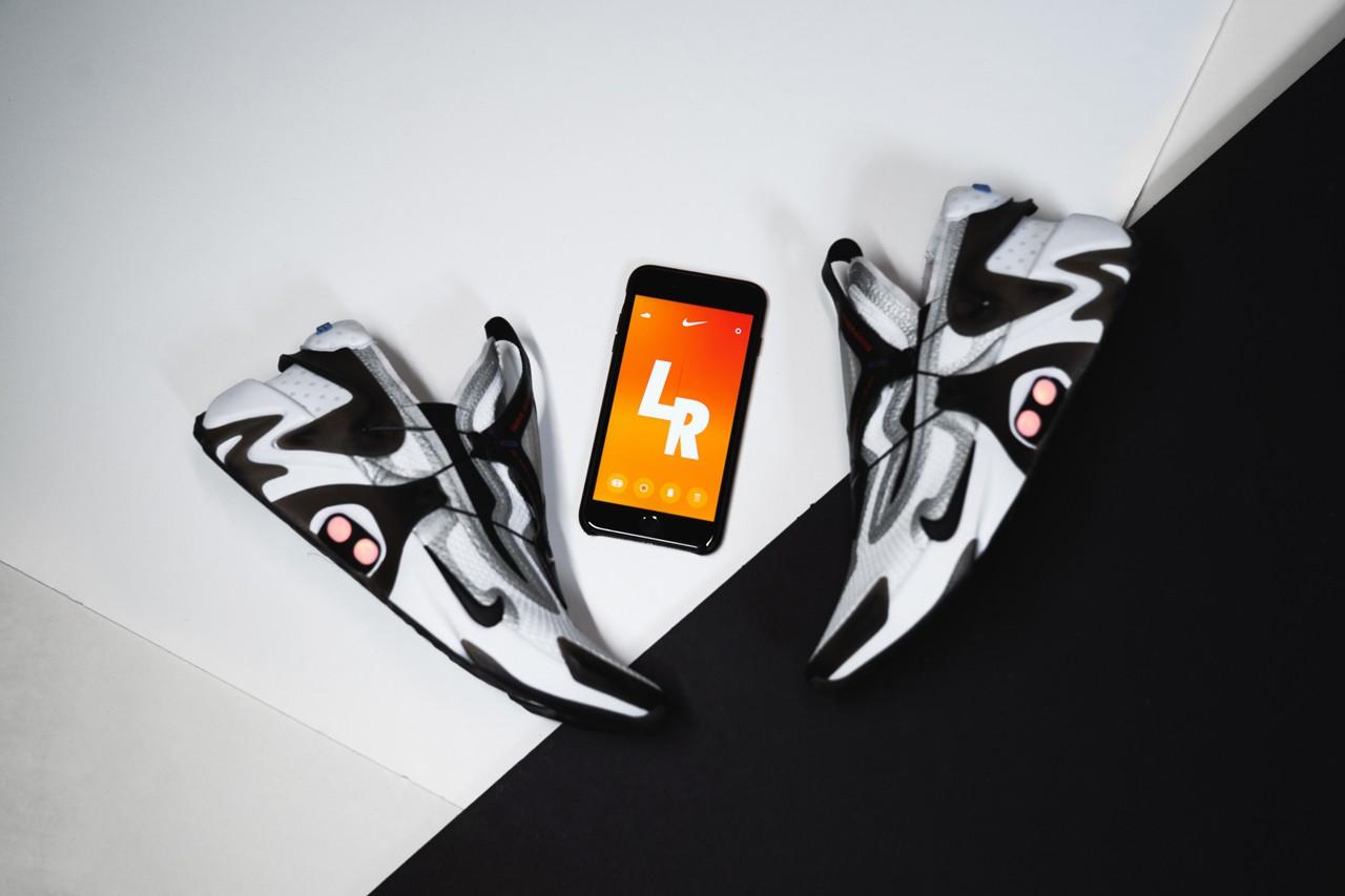 上脚图近赏!Nike Adapt Huarache 下周登场!