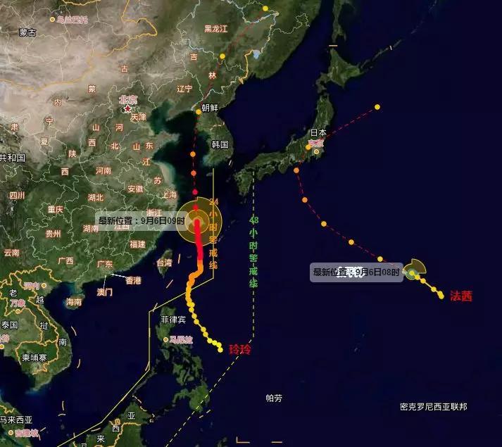 """台风""""玲玲""""北上步伐加快!有可能登陆东北!今年台风数量偏少?"""