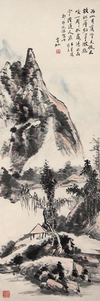 大师黄宾虹的山水画因何有人痛贬,有人狂捧?