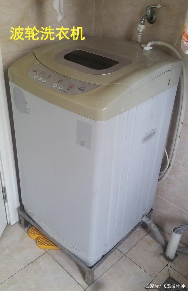 洗衣机不是只有滚筒才能打柜子做收纳,波轮这样装不比它差!高手