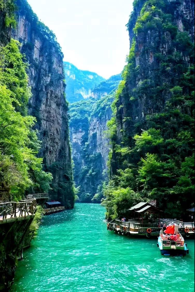 人说山西好风光,最美峡谷在太行,趁着人还在风景在,不如去看看