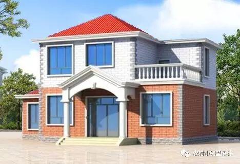 100平农村二层房屋设计图