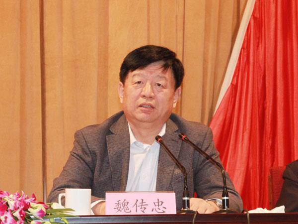 部级老虎魏传忠退休五年被开除党籍,曾办书法展弘扬廉政文化
