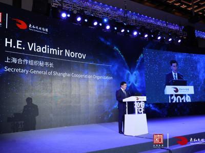 上海合作组织秘书长Vladimir Norov:没有安全,任何程度的可持续发展都无法实现