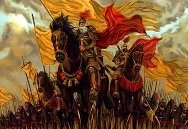 为什么古代打仗要举那么多旗子?占用大量人手举旗,不浪