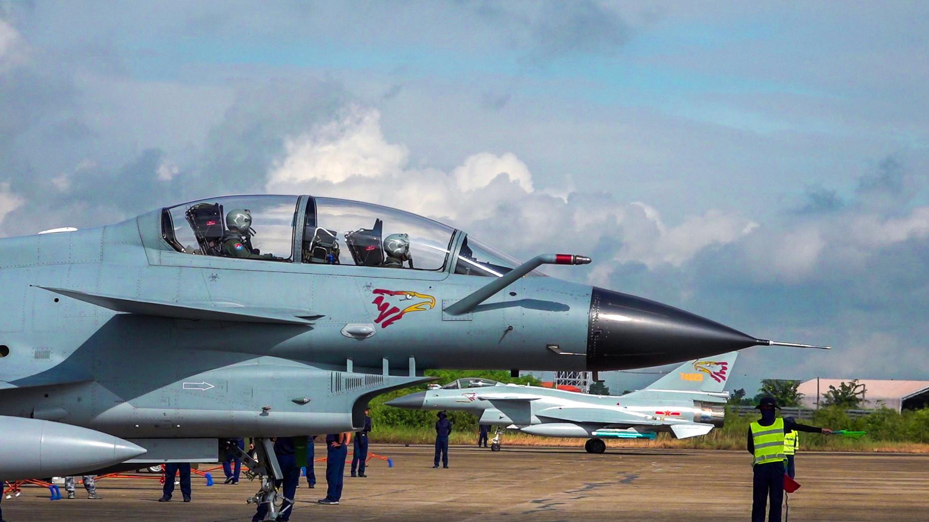 大红鹰迎战泰国鹰狮,这次又是泰国赢了?我空军的官宣简单明了