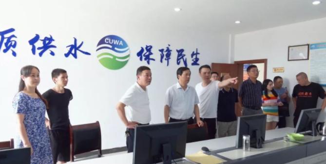 马艳舟调研指导抗旱工作:依法治水管水,全力确保人畜饮水
