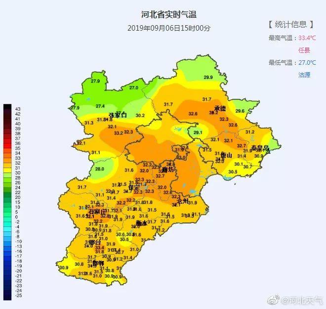 【992 | 气象】周末来了,高温走起!