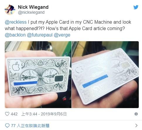 外国网友创意多,AppleCard雕扑克创意赞