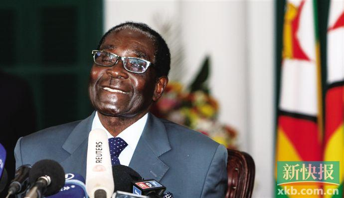 津巴布韦前总统穆加贝逝世 终年95岁