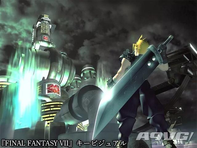 SE公布TGS场刊封面图经过重生的《最终幻想7》主视觉插图