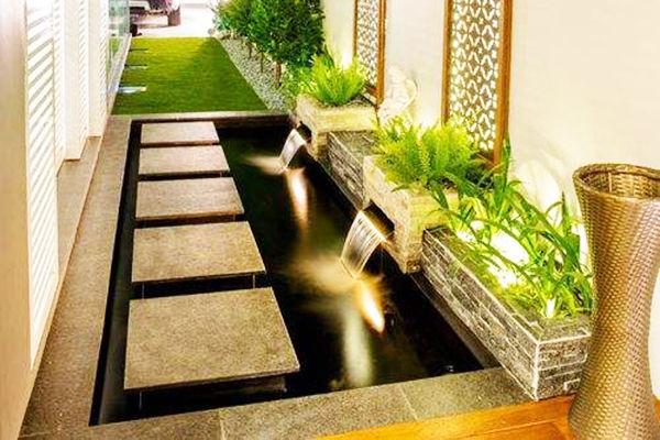 這樣的庭院燈光才叫設計!