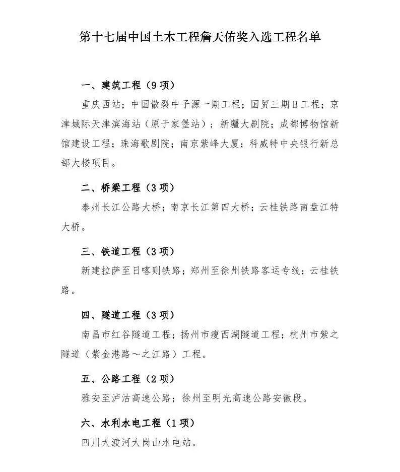 第十七届中国土木工程