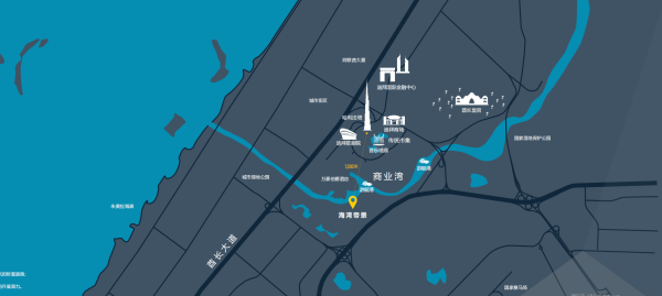 迪拜�花科技:市中心���|地�a�潜P