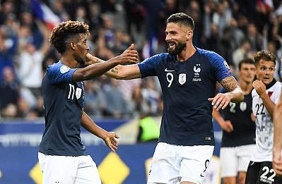 """「欧预赛」法国队大胜,拜仁球星这次不再""""倒霉"""""""