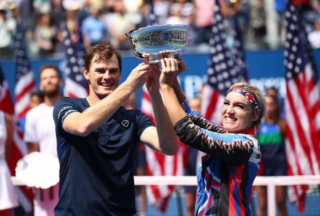 混双赛场 马泰克杰米穆雷成功卫冕美网混双冠军