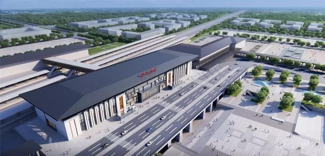 江苏宜兴高铁站_江苏将开通的高铁站,是徐连高铁7个主要站之一,预计2019年启用 ...