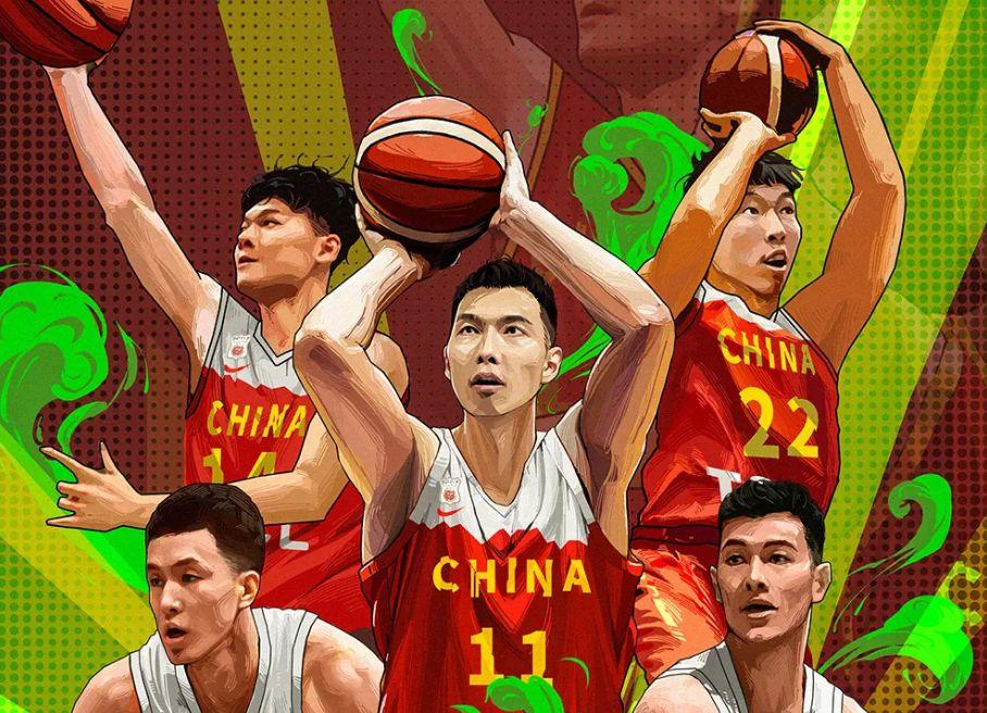中国男篮逼近及格分,球迷应把世界杯还原成