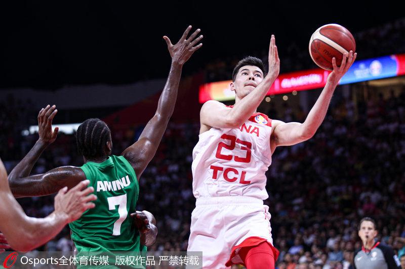 高清 2019男篮世界杯M组 中国73 86不敌尼日利亚无缘直通奥运