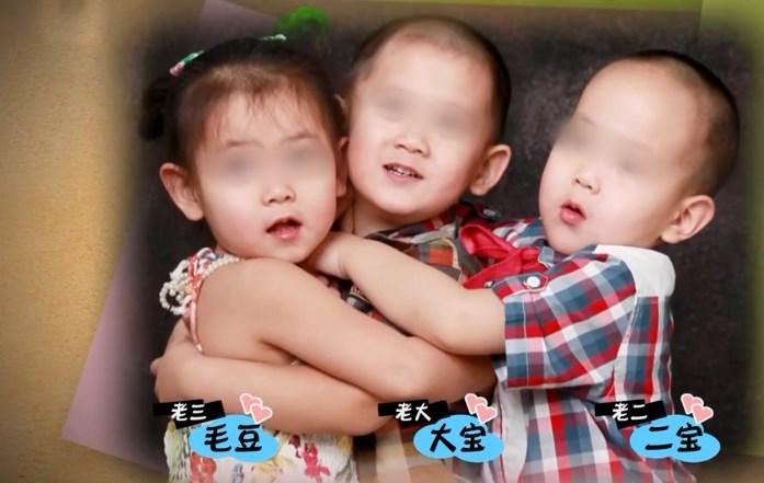 50岁女老板嫁小19岁员工,做试管一下就怀上3胞胎,老公快乐晕了