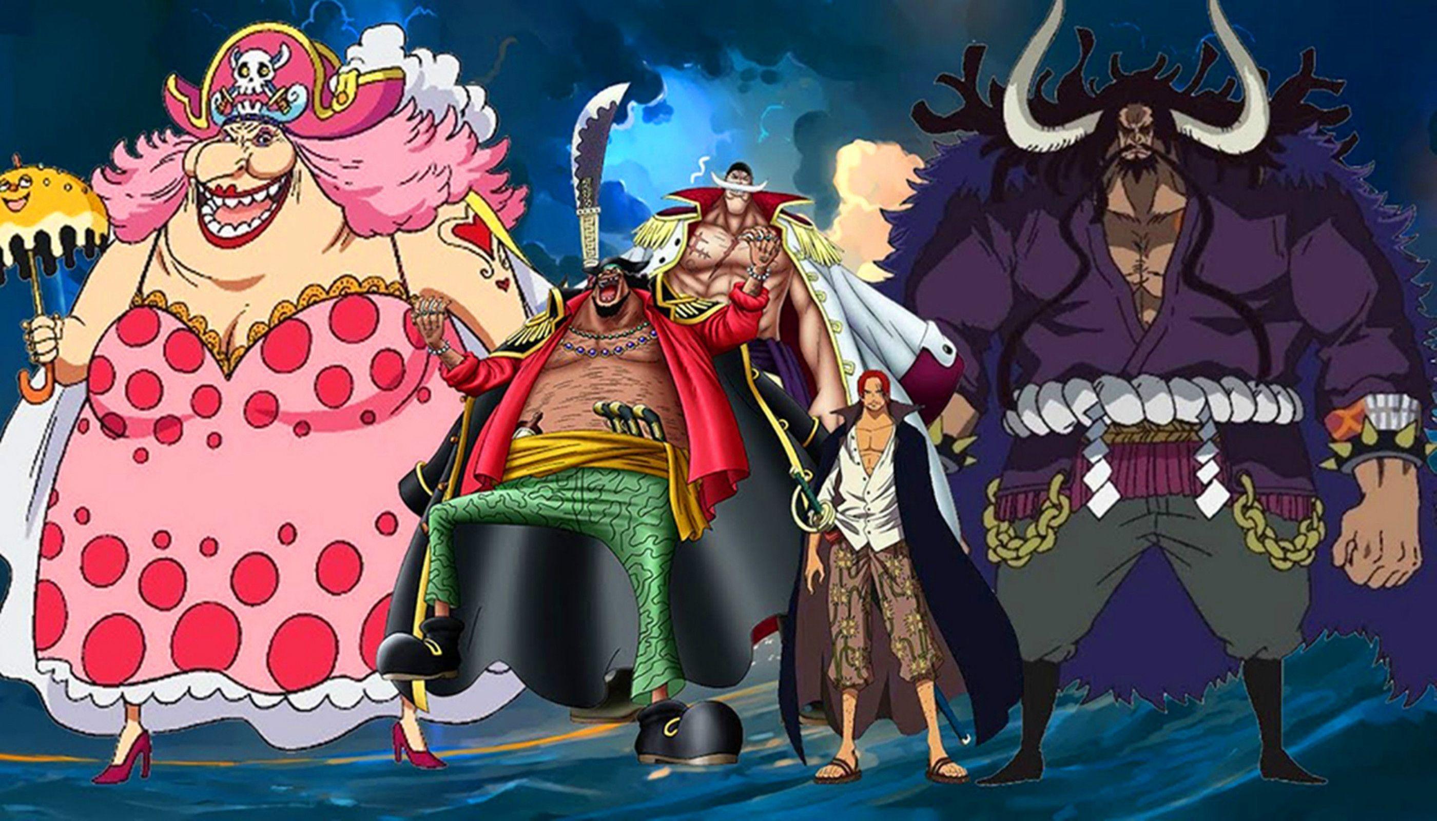 海贼王:五个最强的四皇二把手,海军大将都不敢轻举妄动