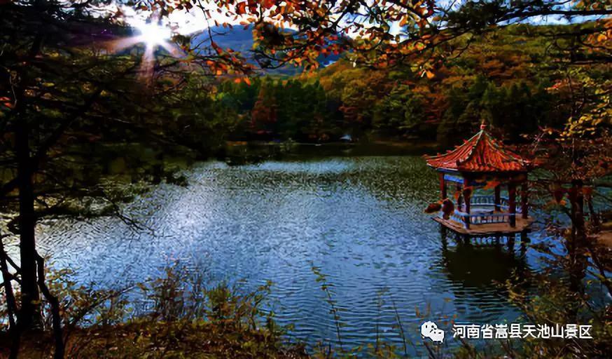 教师节嵩县天池山景区对全国教师免费