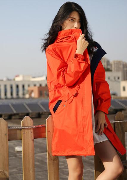 秋天已到,穿冲锋衣如何搭配才特别时髦?  时尚穿搭  第3张