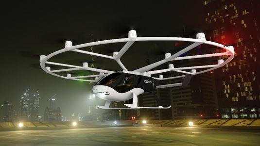 前瞻布局城市空中出行领域吉利控股集团与戴姆勒集团共同投资Volocopter