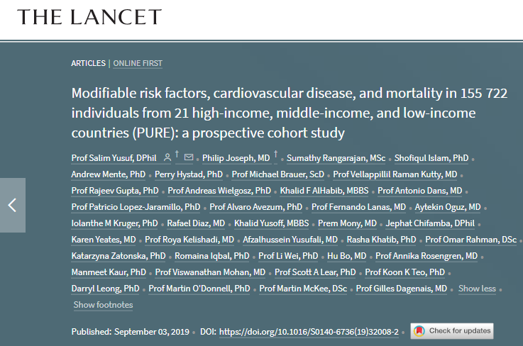《柳叶刀》发文:70%的心血管疾病可预防!阔别心血管病,这些风险身分要看重……