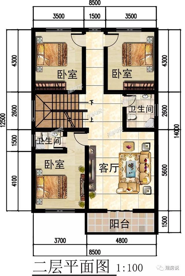建房说5款农村别墅图纸设计,欧式现代中式别墅