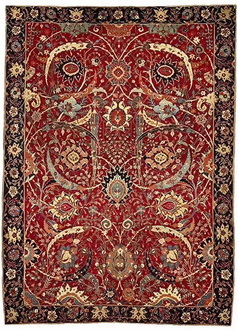 威尔顿地毯生产工艺图