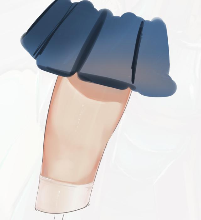 人物皮肤怎么画 超详细的二次元腿画法