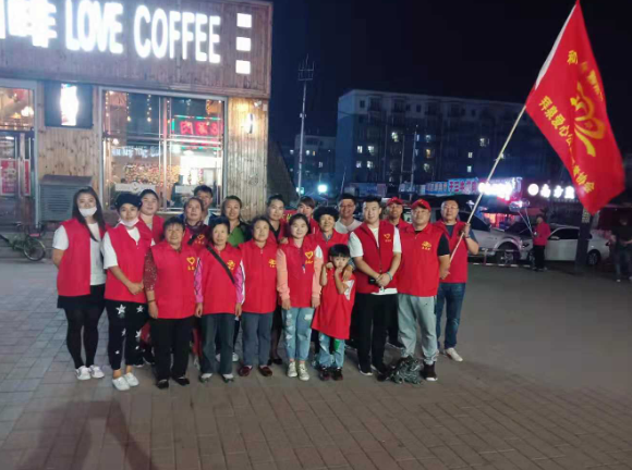 黑龙江拜泉县爱心公益志愿者协会爱心义卖活动成功举办